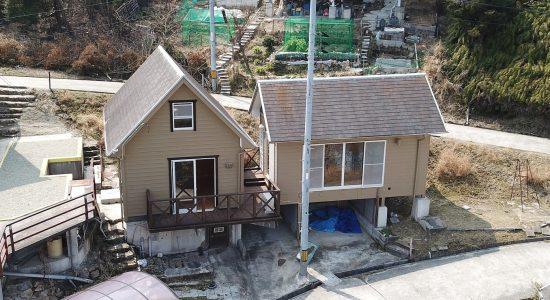 備前市日生町日生鴻島の売り別荘、その名もゴリラの家